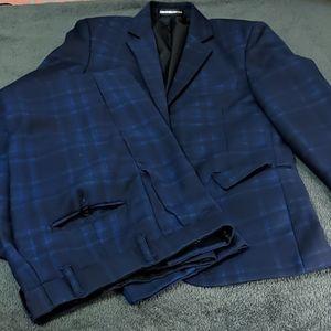Boys two button suit